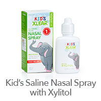 Xlear Kid's Saline Nasal Spray with Xylitol