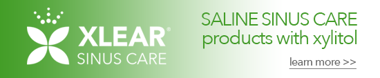 Xlear Saline Sinus Care products with xylitol