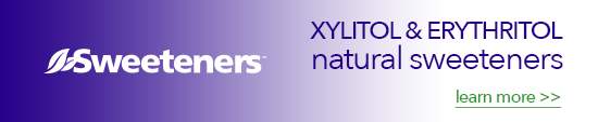 Natural Xylitol and Erythritol Sweeteners