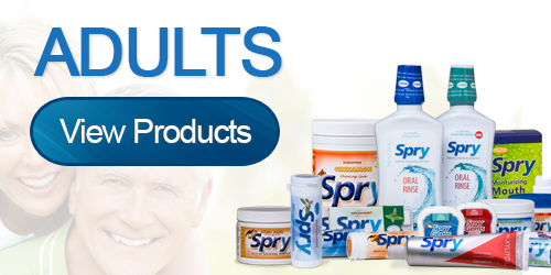 Adult Xylitol Products by Spry Dental Defense