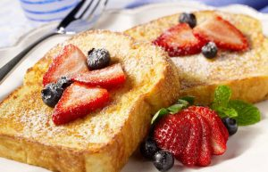 Fluffy French Toast made with Xylosweet