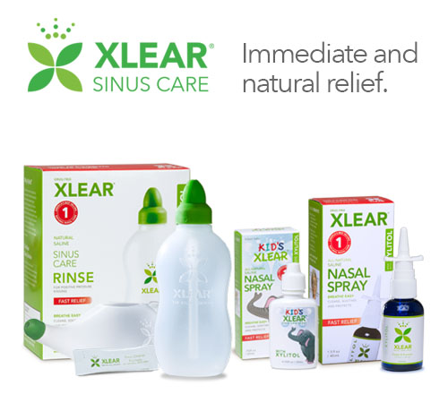Xlear Xylitol & Saline Sinus Care