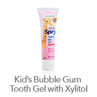 Spry Kid's Natural Bubble Gum Flavor Xylitol Tooth Gel